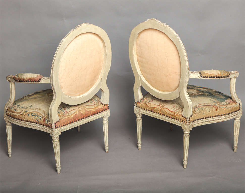 Pair of 18th Century Louis XVI Chairs 2