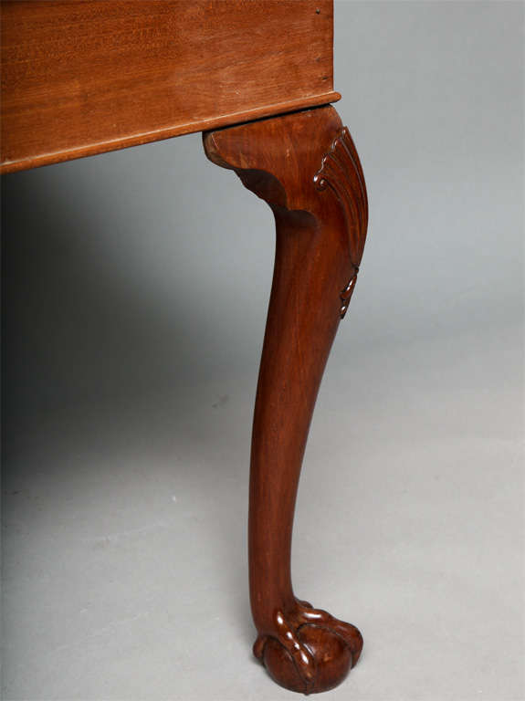George II Mahogany Center Table For Sale 1