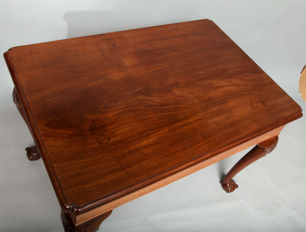 George II Mahogany Center Table For Sale 2