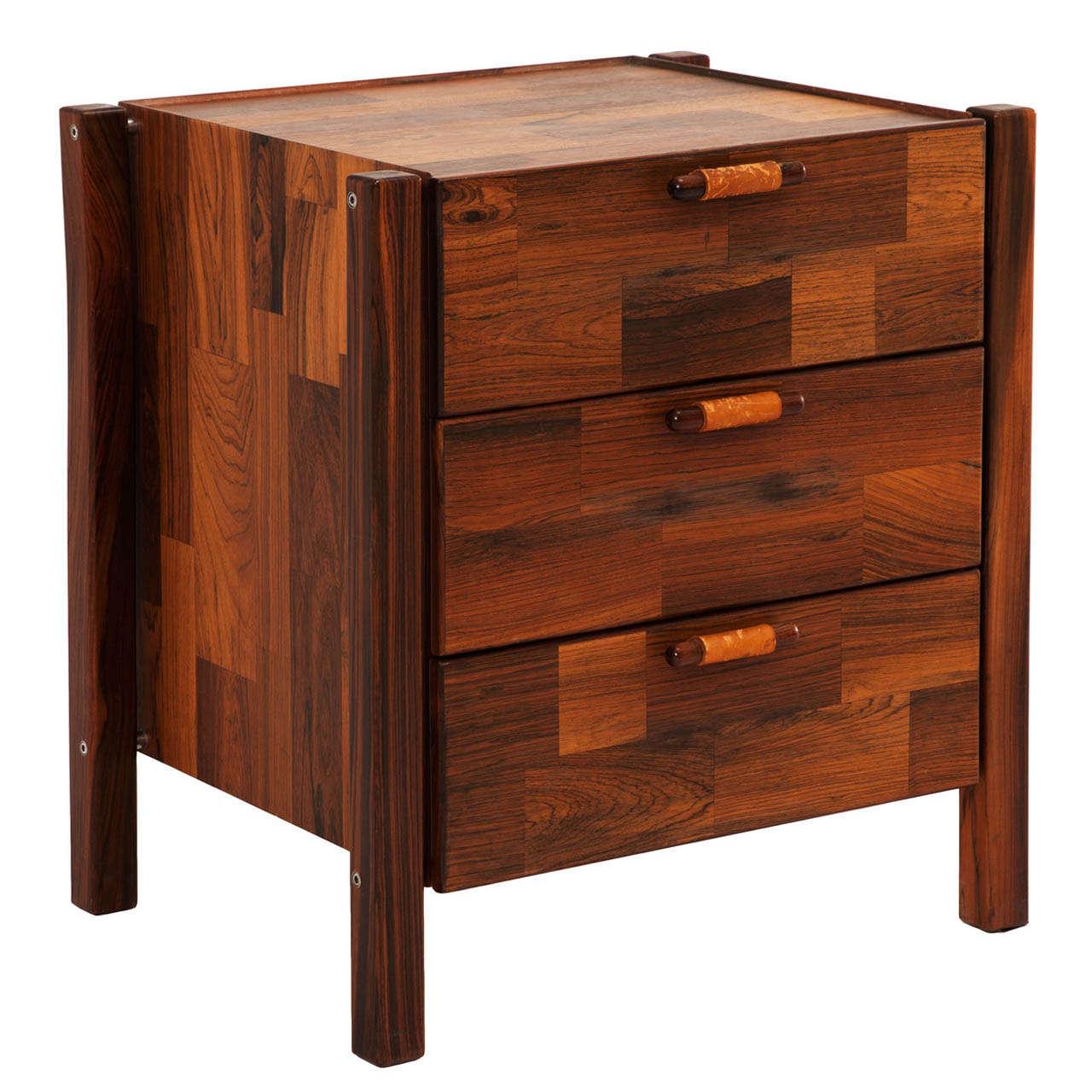 small storage unit by jorge zalszupin brazilian wood furniture