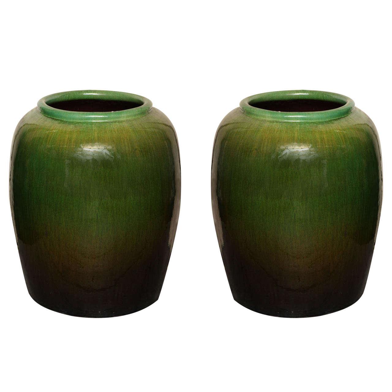 Vintage tall round green glaze ceramic water jar from china for vintage tall round green glaze ceramic water jar from china for sale reviewsmspy