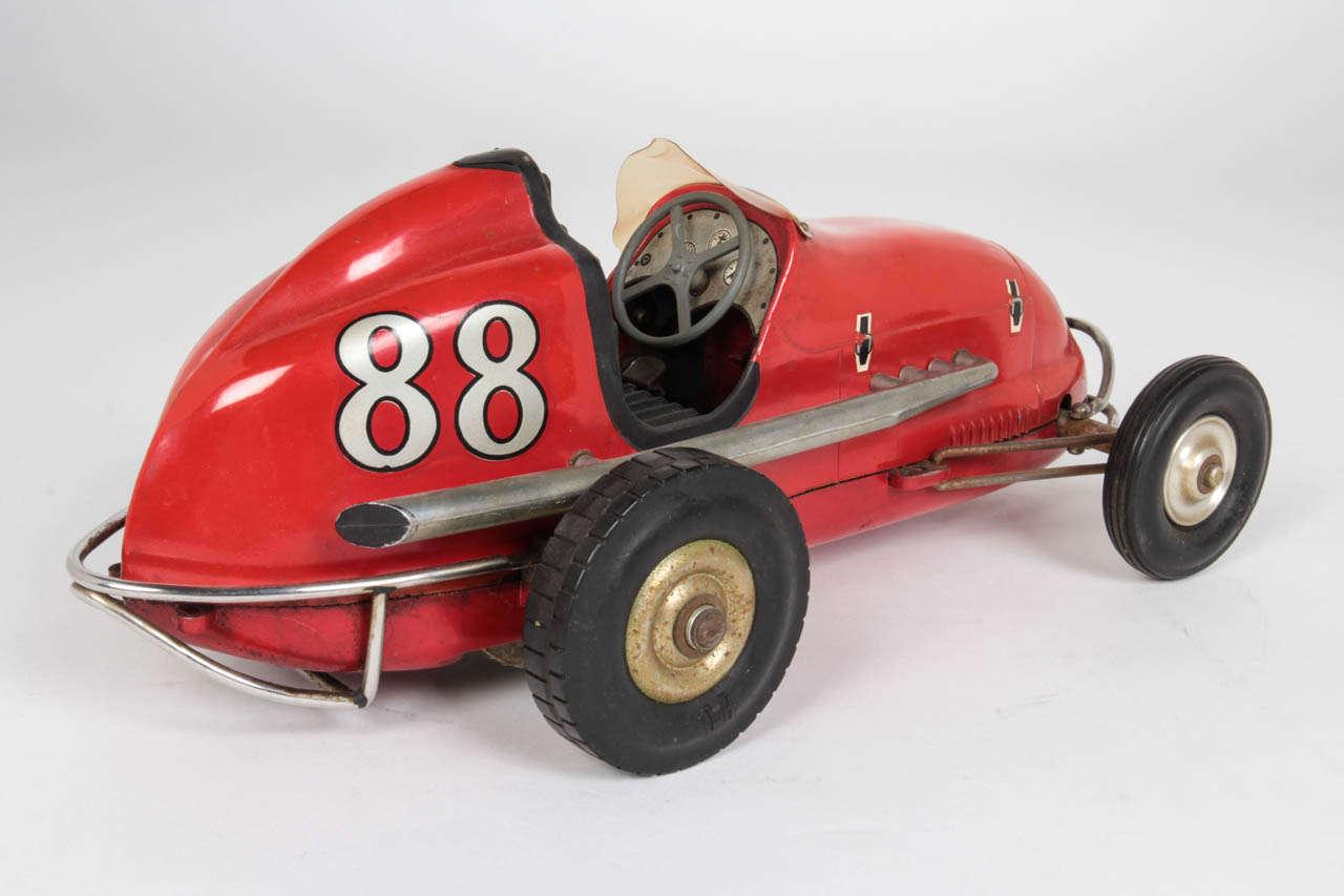 Airplane engine vintage race car