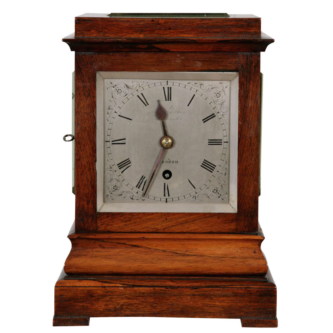 Antique Mantel Clock By James Gorham Kensington London