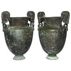 Pair of Large Neoclassical Urns