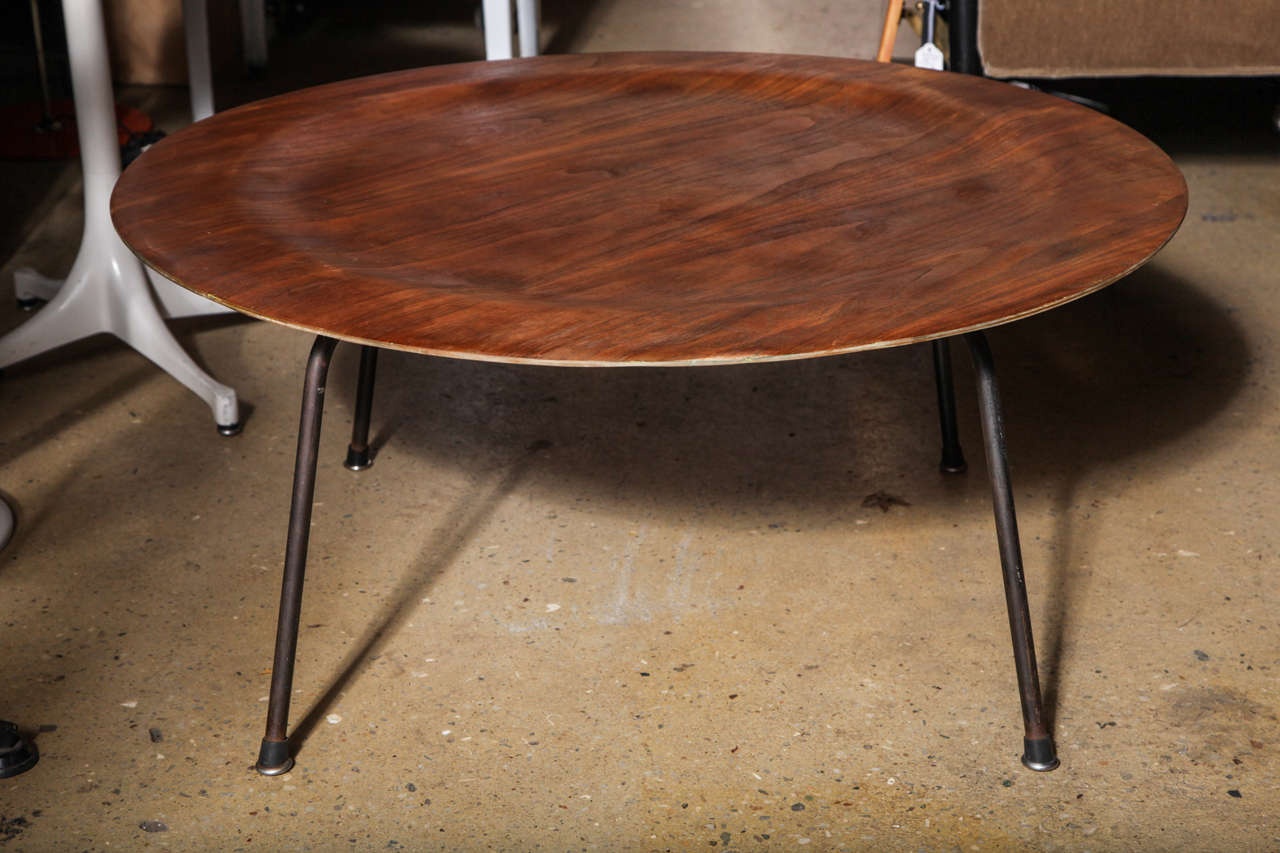 Early 1950s charles and ray eames ctm walnut and wrought iron early 1950s charles and ray eames ctm walnut and wrought iron coffee table 2 geotapseo Choice Image