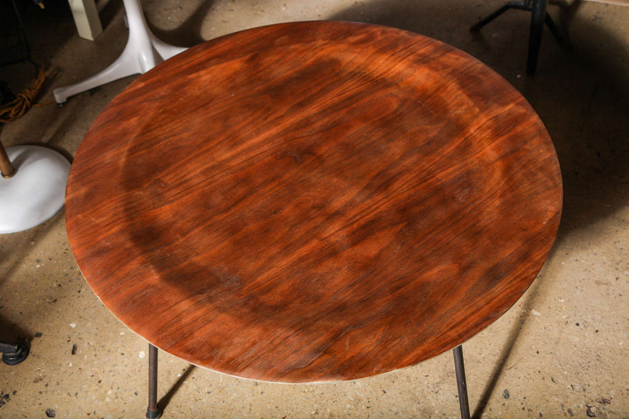 Early 1950 S Charles And Ray Eames Ctm Walnut And Wrought