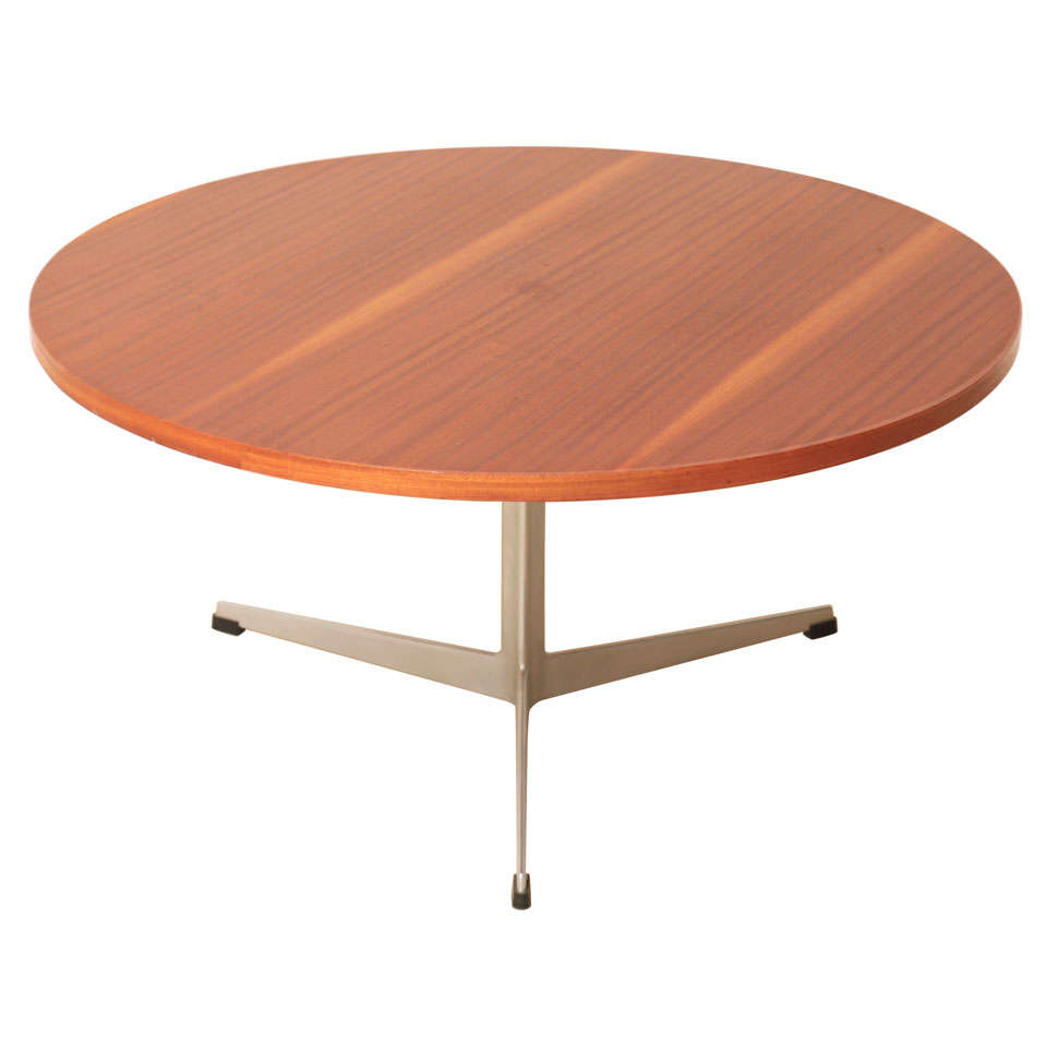 Arne Jacobsen 1960 39 S Teak Coffee Table For Fritz Hansen At 1stdibs
