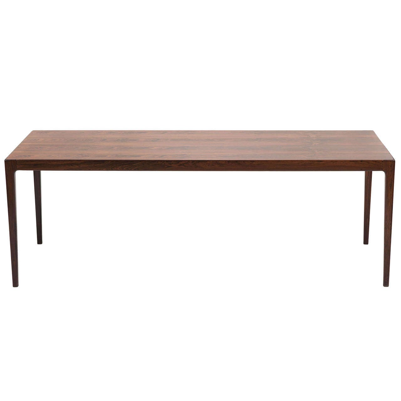 An Elegant Danish Rosewood Coffee Table At 1stdibs