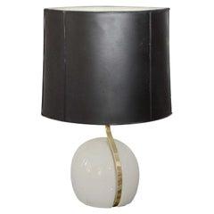 Set of Four Italian Ceramic Table Lamps by Lumi