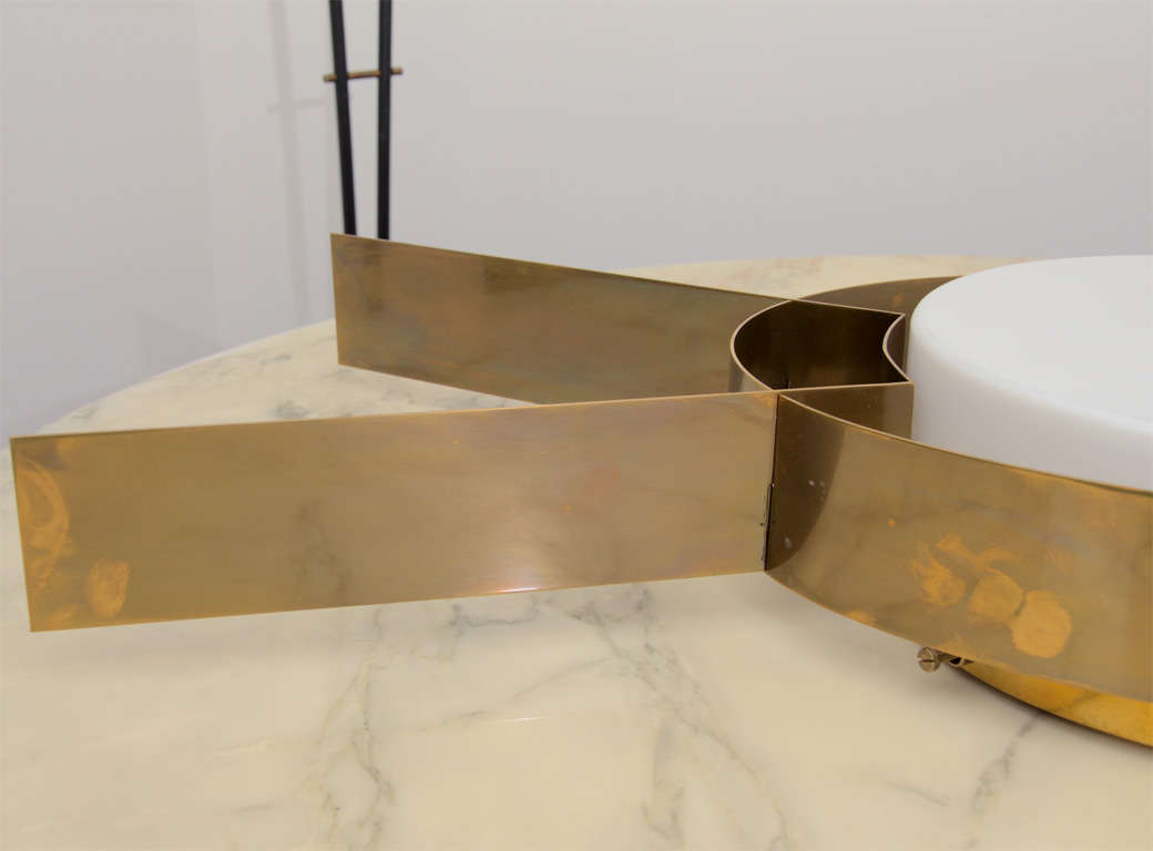 Large-Scale Pair of Wall Sconces by Arredoluce For Sale at 1stdibs