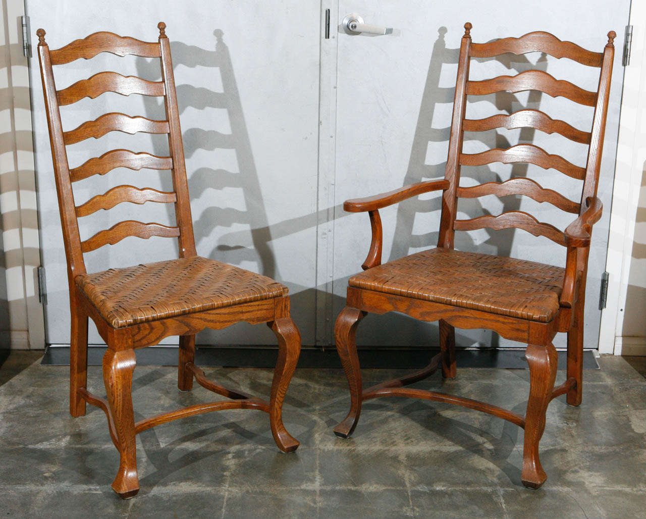 new pictures of ladder back dining chairs