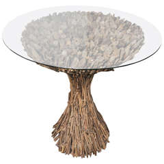 Woven Twig Table
