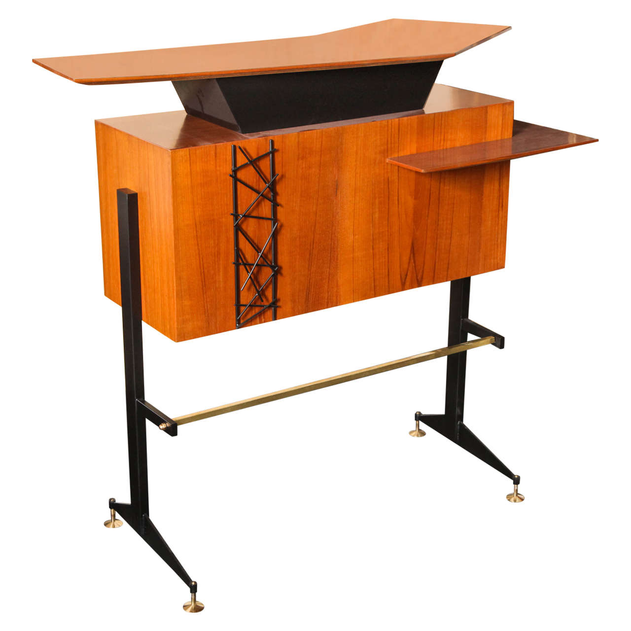 Bar Stand Furniture: Stand Up Bar, Made In Italy For Sale At 1stdibs