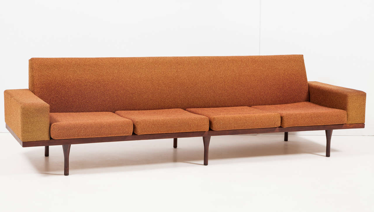 Rosewood Sofa by Illum Wikkelsø for Soren Willadsen 6