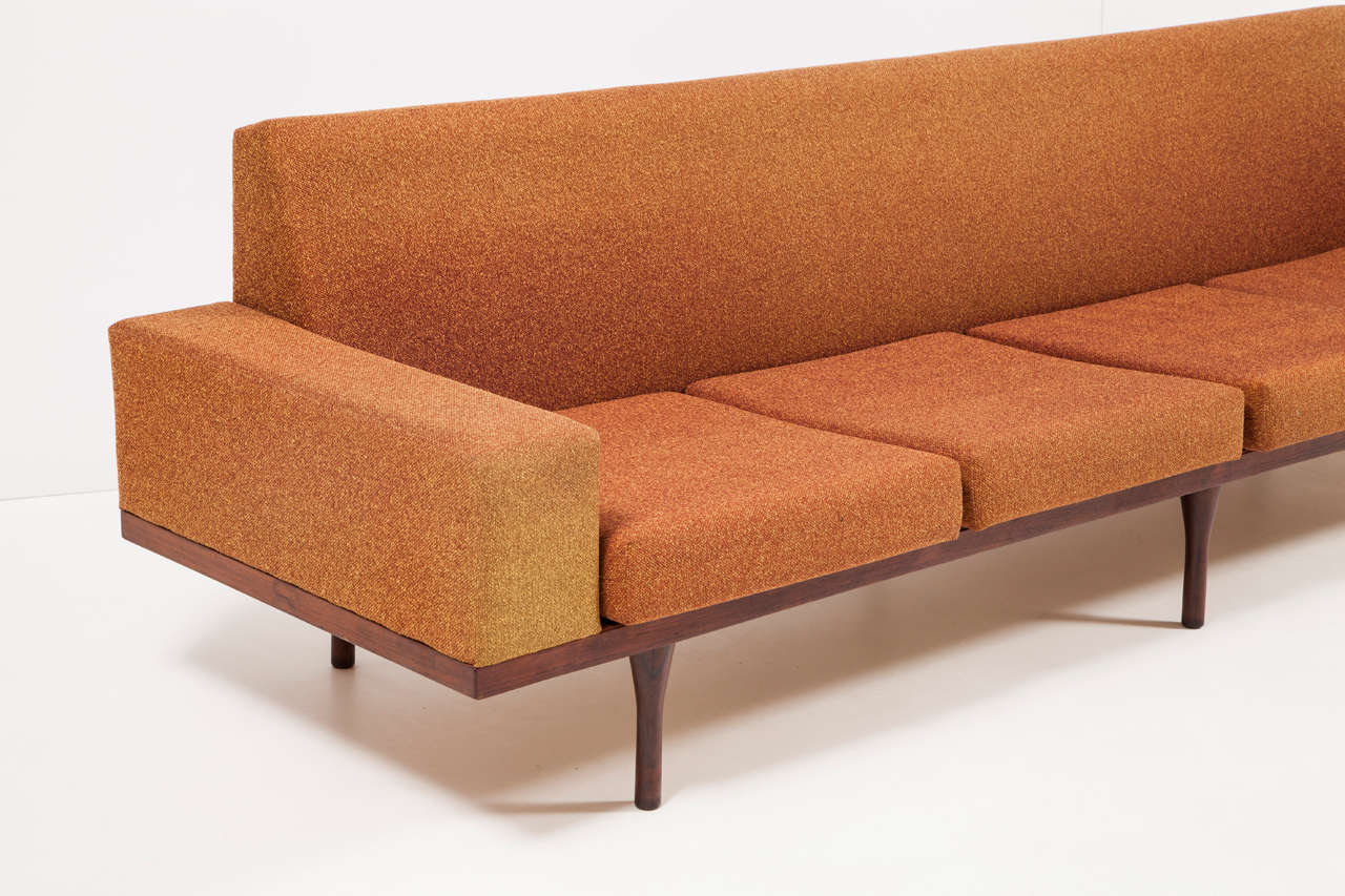 Rosewood Sofa by Illum Wikkelsø for Soren Willadsen 7