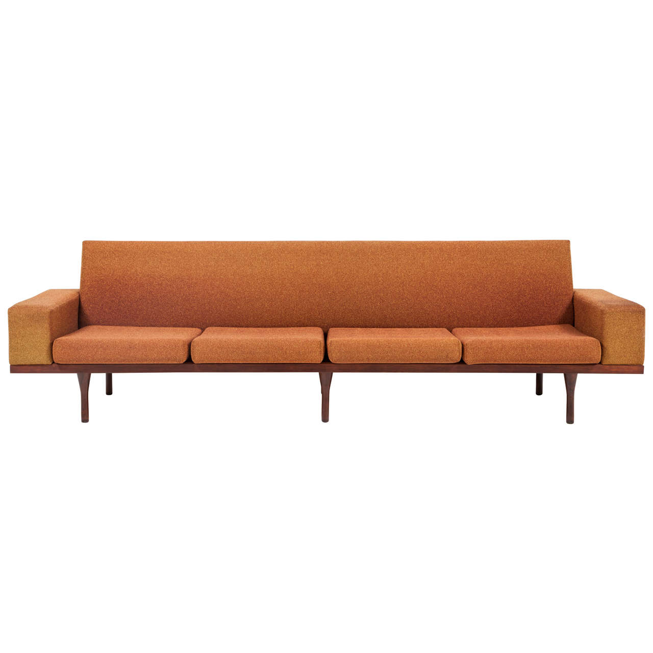 Rosewood Sofa by Illum Wikkelsø for Soren Willadsen 1