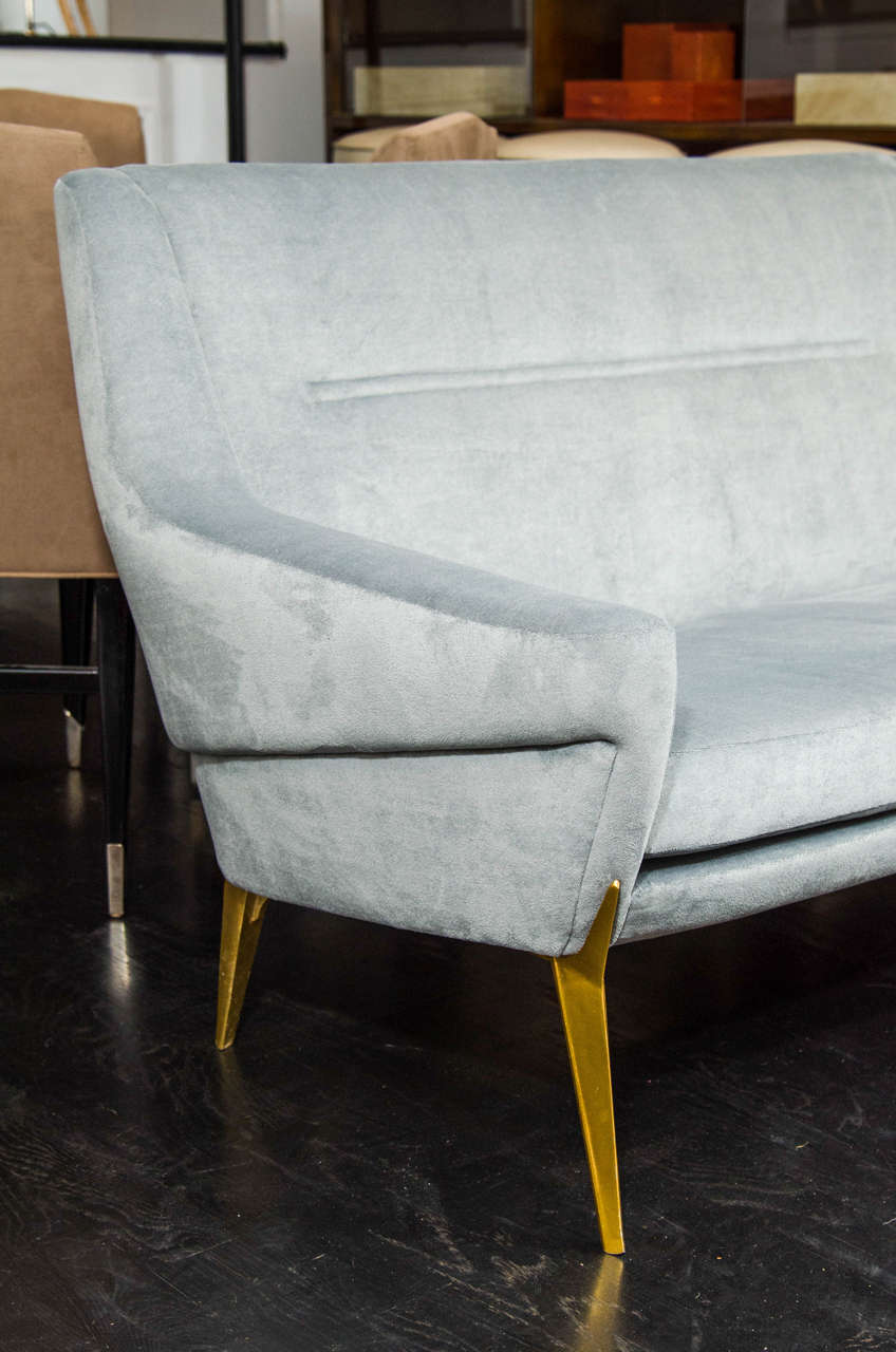 French Charles Ramos Settee For Sale