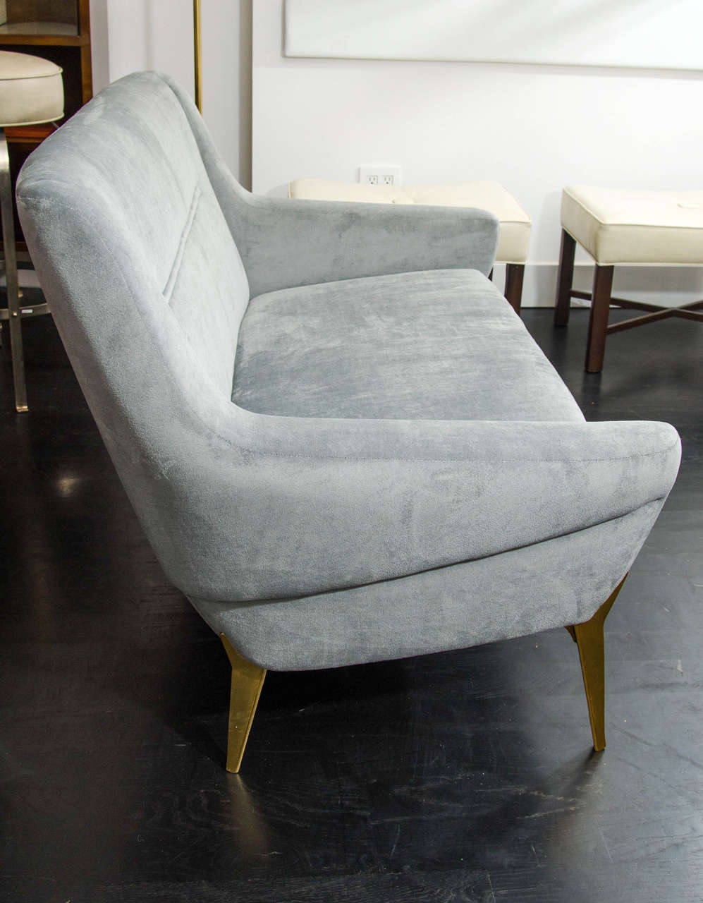 Charles Ramos Settee In Excellent Condition For Sale In New York, NY