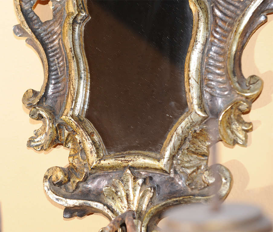 A Spirited Pair Of Rococo Style Bois Dore Appliques At 1stdibs