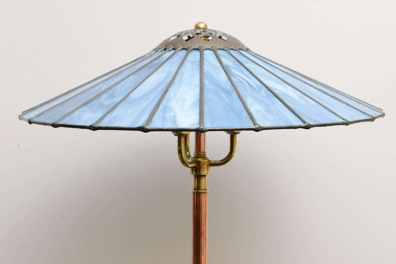 Arts and crafts floor lamp at 1stdibs arts and crafts arts crafts floor lamp for sale aloadofball Images