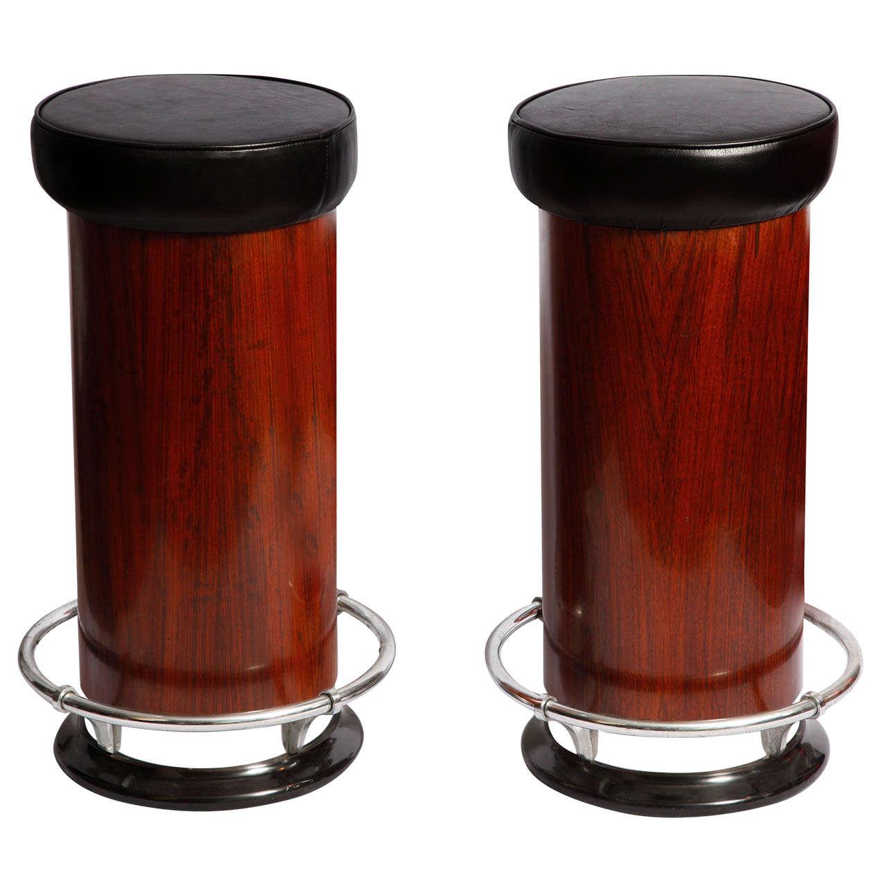 art deco bar stools. Black Bedroom Furniture Sets. Home Design Ideas
