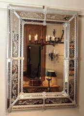 Antique Venetian Mirror circa 1920s-1930s image 2