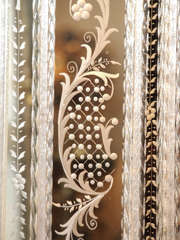Antique Venetian Mirror circa 1920s-1930s image 6