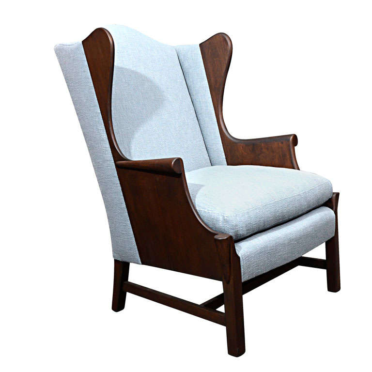 Stickley Wing Back Chair at 1stdibs
