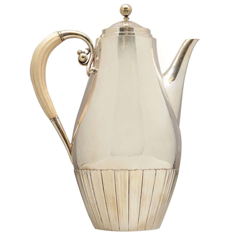 Georg Jensen Coffee Pot at 1stdibs