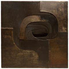 Amadeo Gabino 1960s Steel Sculpture