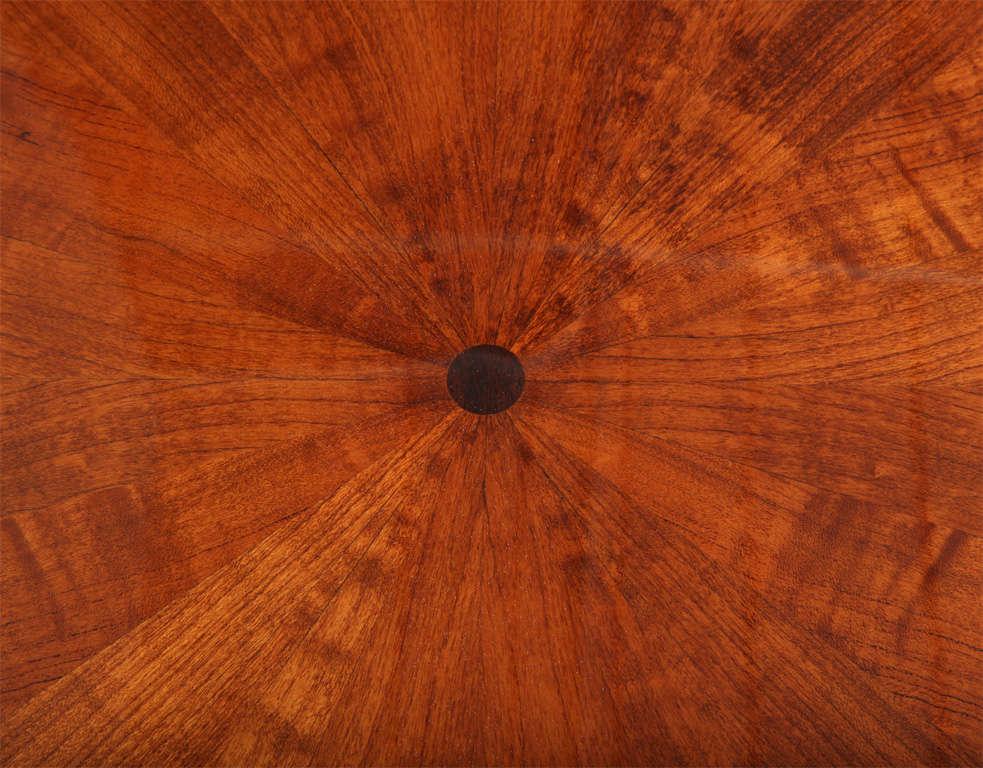 sleek art deco dining table with sunburst inlayed top 7 art deco dining 7