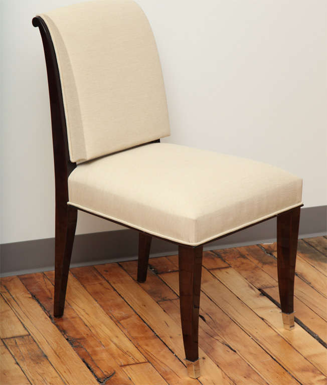 Suite Of 10 2 Art Deco Dining Chairs And Armchairs