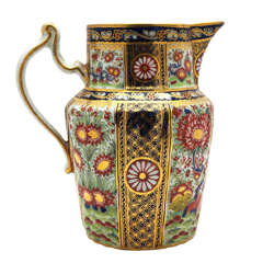 Chamberlain's Worcester 18th c. Hand Painted Imari Pitcher