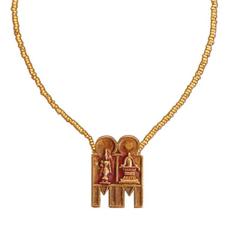 South Indian Gold Marriage Necklace At 1stdibs