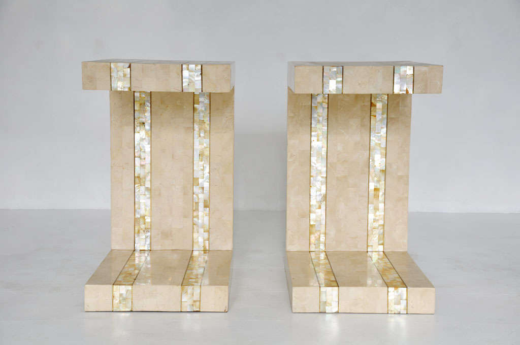 American Maitland-smith Tessellated Stone Tables