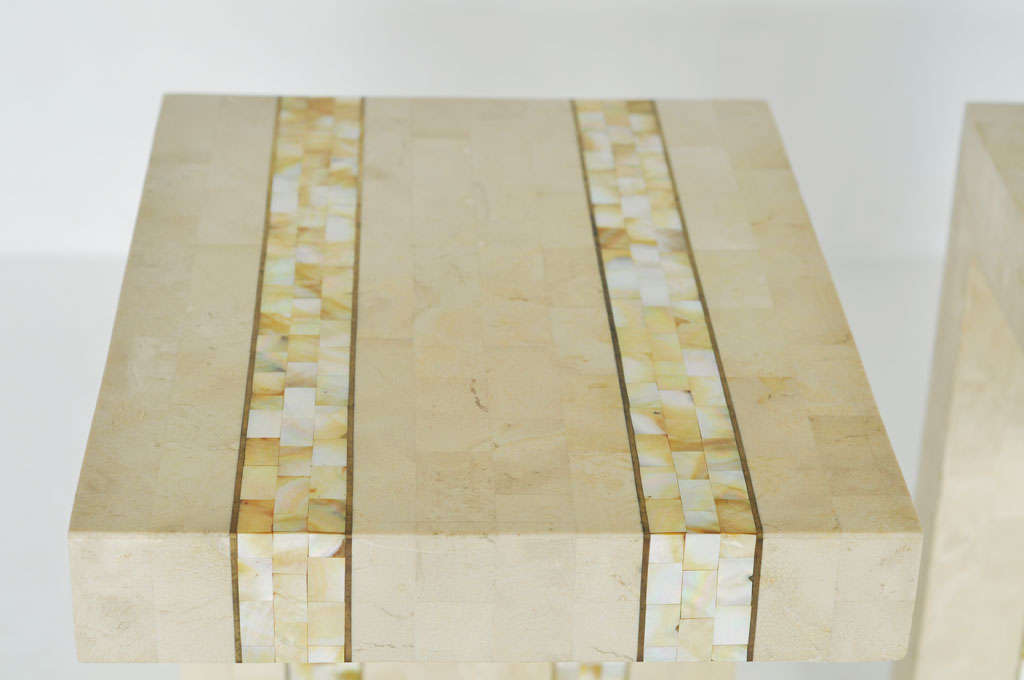 Maitland-smith Tessellated Stone Tables 1