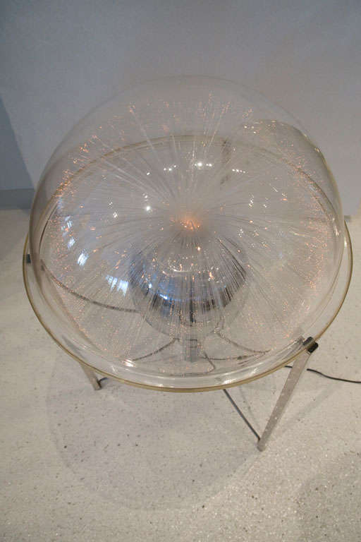 Vintage Fiber Optic Globe Light By Fantasia Products At