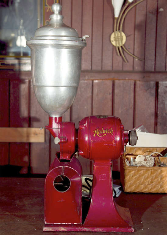 Electric Holwick Coffee Grinder At 1stdibs