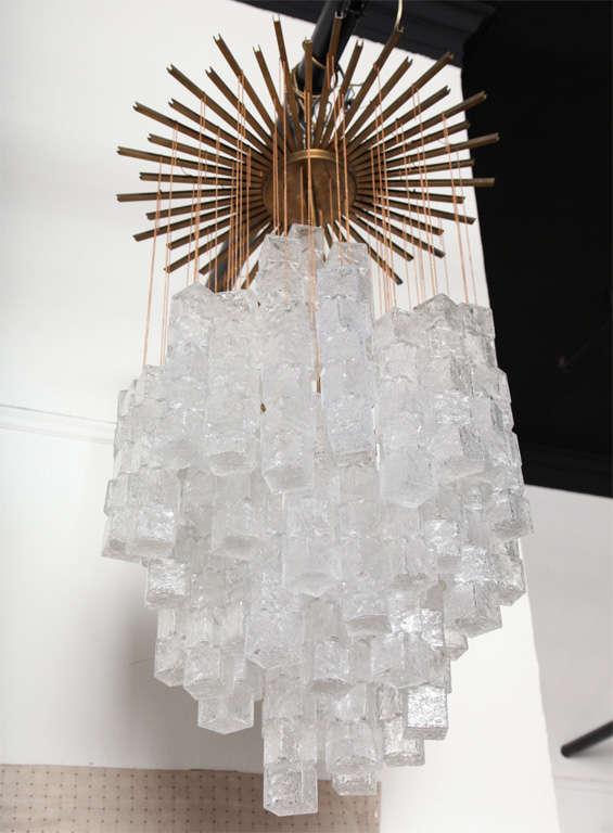 Italian Chandelier Made By Mazzega