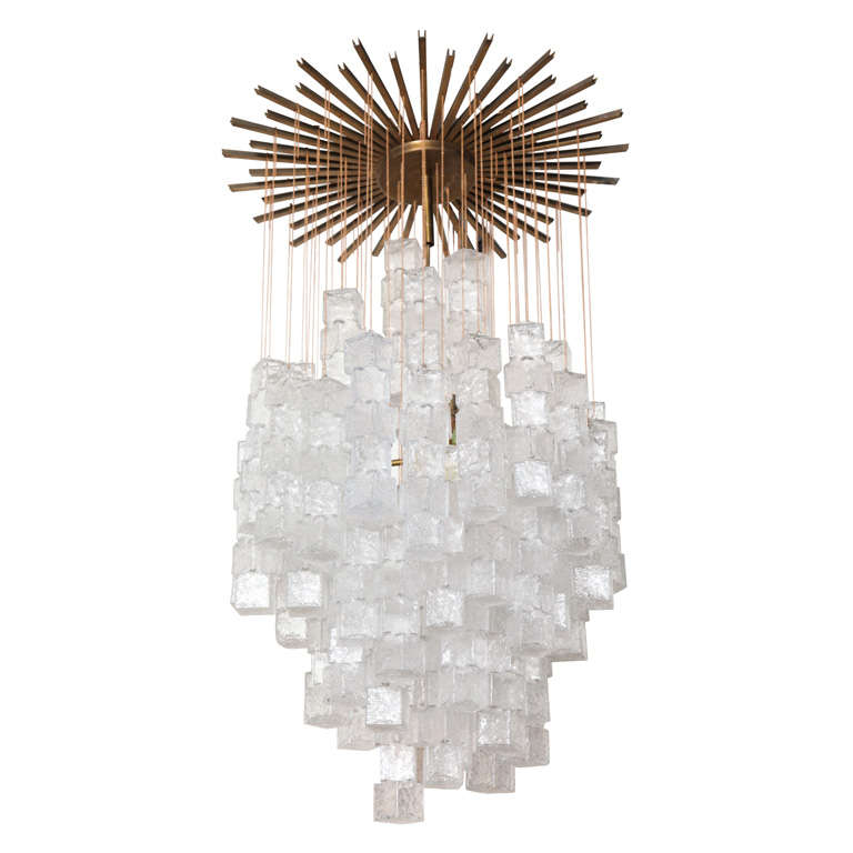 Chandelier Made By Mazzega