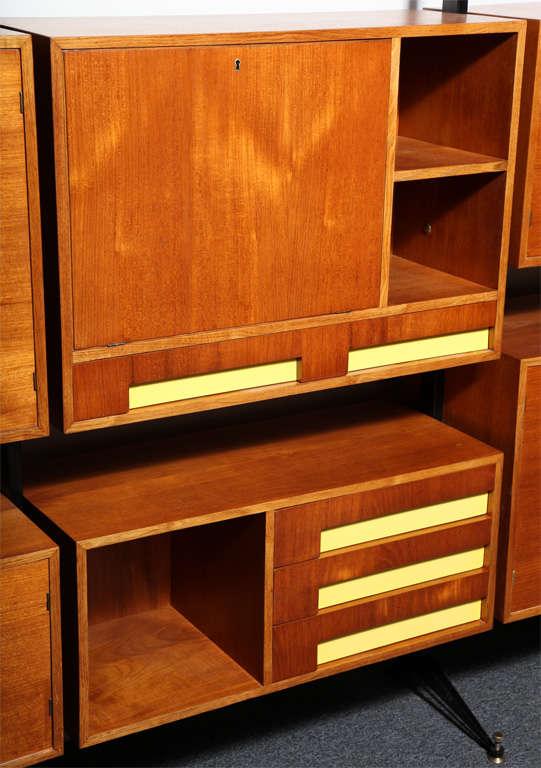 Italian Bookcase Cabinet By Dassi