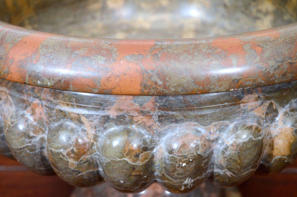 Pair of 19th Century Marble Urns For Sale 4