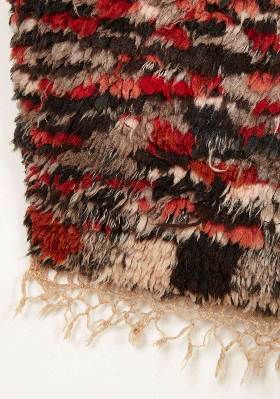 Tribal Vintage Azilal Abstract Moroccan Berber Rug For Sale