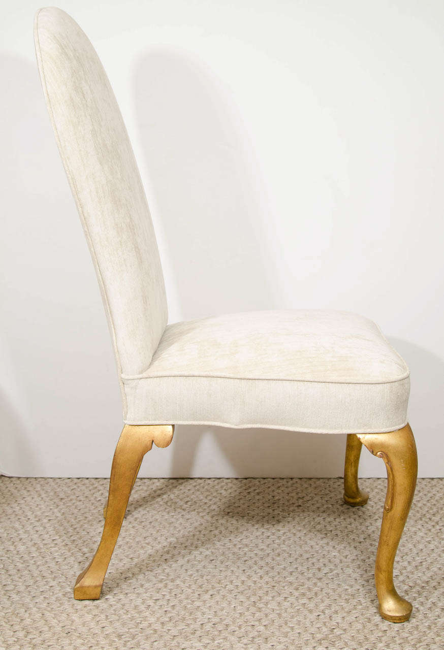 this a set of four queen anne style dining chairs is no longer