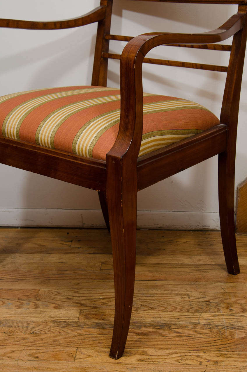 Pair of Art Deco Armchairs In Excellent Condition For Sale In New York, NY