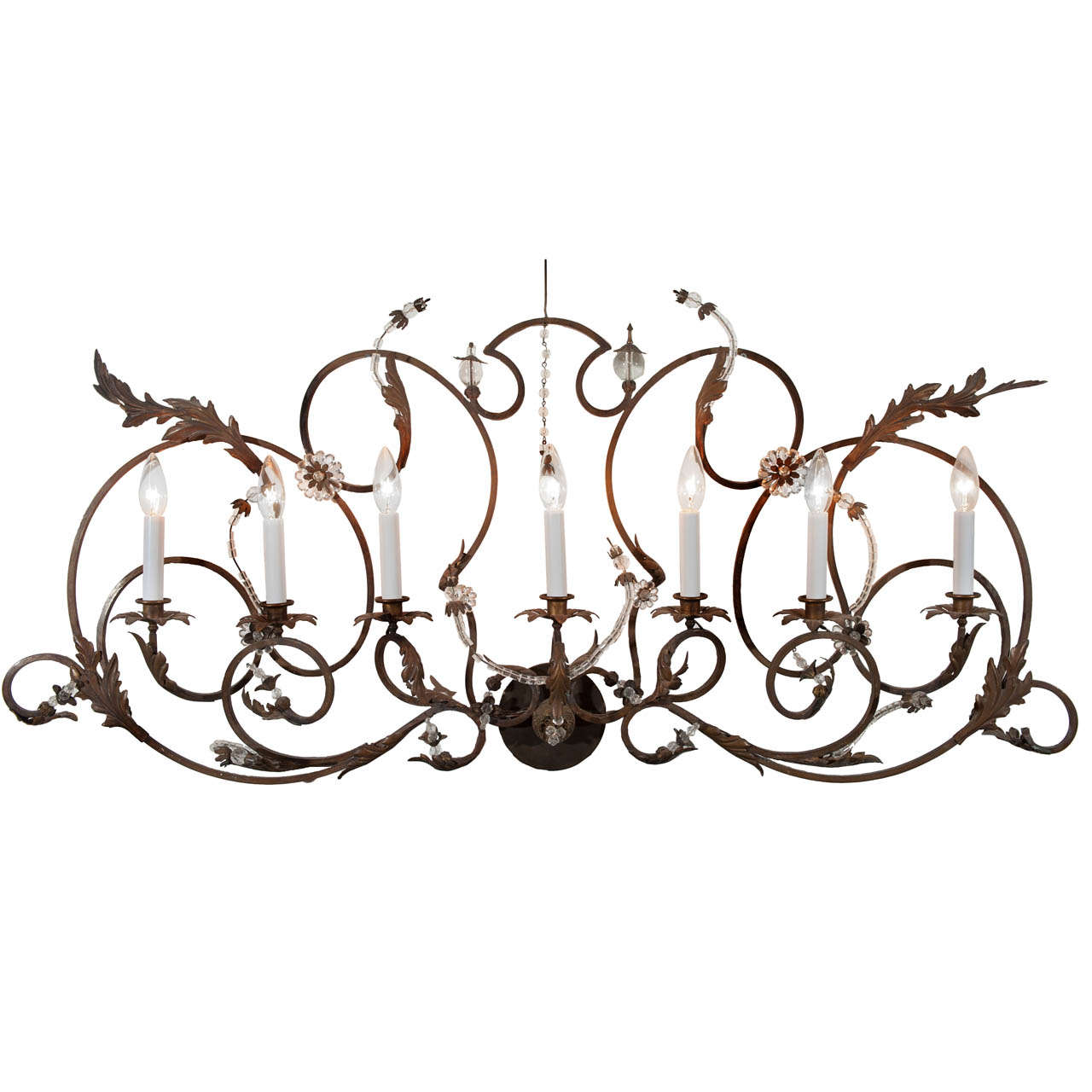 Get The Look Overscale Lighting: Singular Overscale 19th Century French Country Style