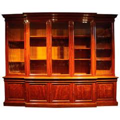An Antique 5 Door Bookcase
