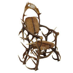 20th Century Horn Armchair