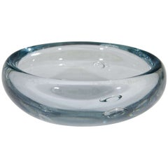 A Midcentury Swedish Art Glass Dish or Bowl