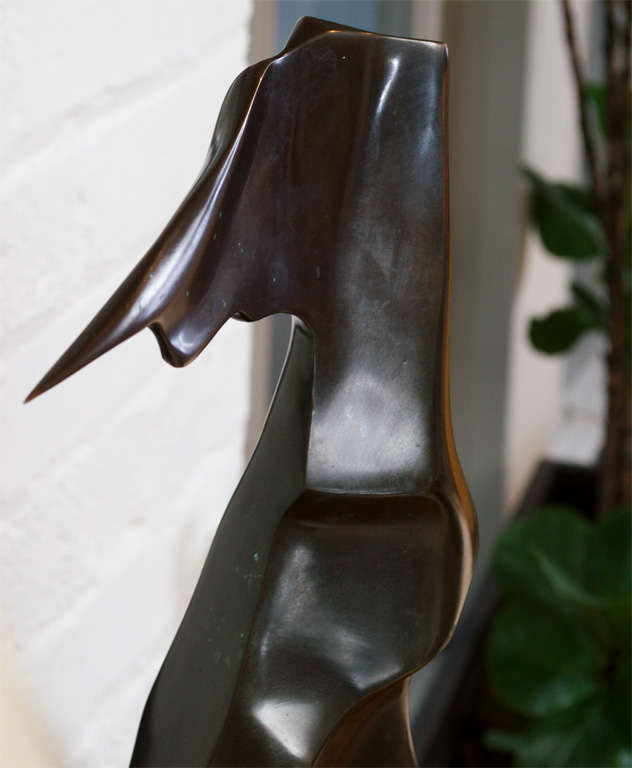 Hand Forged Bronze Scultpure titled